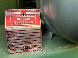 Wadkin Bursgreen Bandsaw Woodworking 415v 3phase 1.5kw Guide Rail New Blades
