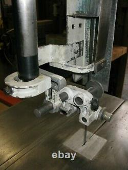 Wadkin C700 Band Saw. Wood / Metal Saw. S10 Electric Brake. Tilt Table. 3 Phase