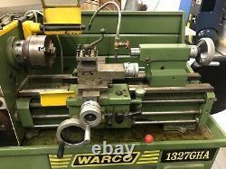 Warco 1327GHA Manual Lathe 3 Phase