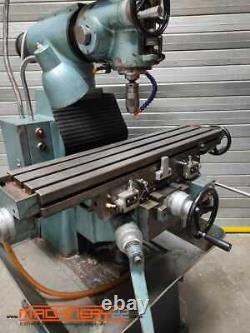Warco A2F Milling Machine, Turret Mill, 415V, Three Phase
